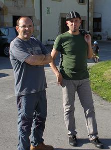 Alberto Ortiz de Zarate e Iñaki Ortiz