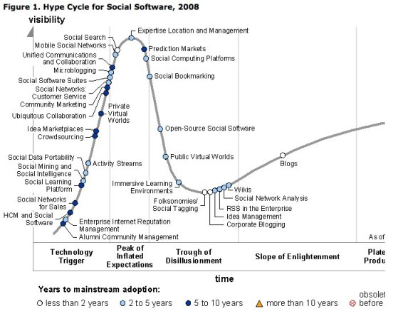 gartner hype social soft