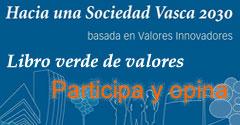 Banner de la Comunidad Vasca de Innovadores - Libro Verde de Valores
