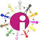 Logo del i-Talde de Innobasque sobre el Ciberespacio