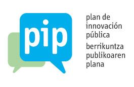 Logo del Plan de Innovación Pública (PIP) del Gobierno Vasco