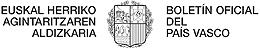 Logo del Boletín Oficial del País Vasco