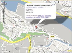 mapa cip sestao