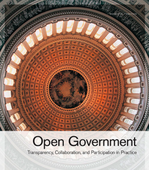 Open Government book O'Reilly