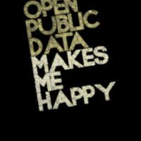 Open public data makes me happy