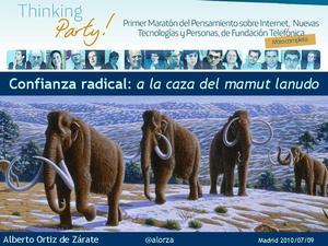 mamuts en la ThinkingParty