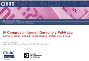UOC internet derecho política