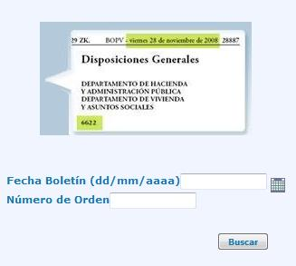 verificación documentos BOPV